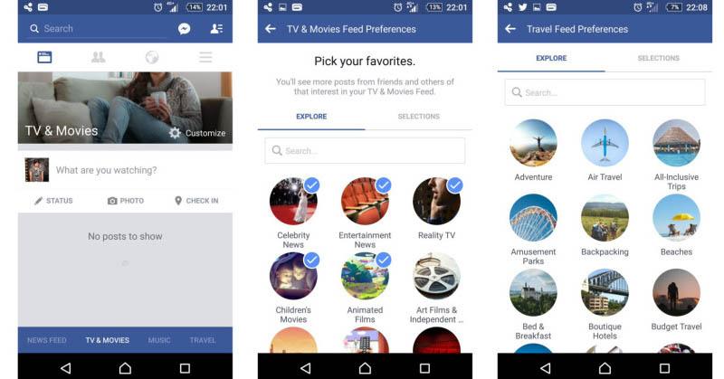 Fitur Kategori Facebook Bisa Dimodifikasi