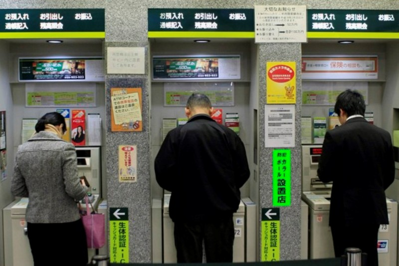 Ilustrasi, pembobolan mesin ATM di Jepang (Foto: The Atlantic)