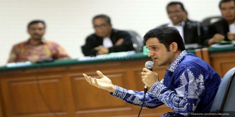 Mantan Bendahara Umum Partai Demokrat, M Nazaruddin