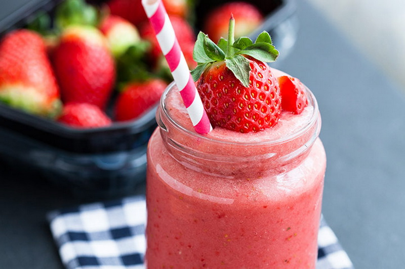 Resep Paduan Strawberry Smoothie Dengan Yogurt Okezone Lifestyle