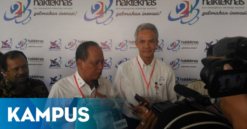 Menristekdikti Resmikan Peringatan Hakteknas ke-21 di Semarang