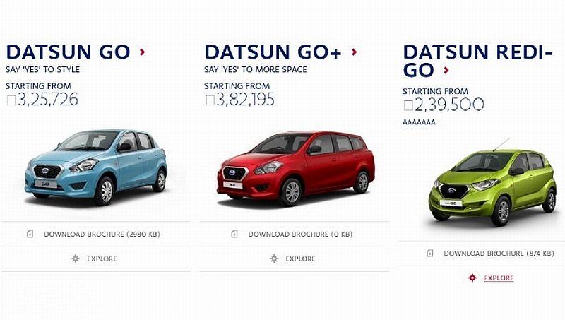 Harga Datsun Redi-GO Bocor : Okezone News