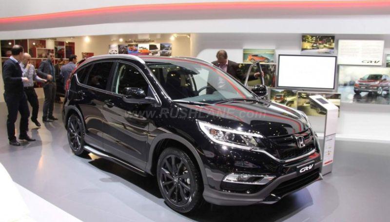 Honda cr v dengan mesin diesel akan diluncurkan pada 2017 for 2016 honda crv vs 2017 honda crv