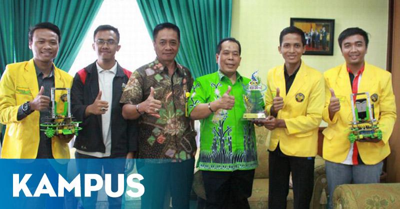 Unnes Jadi Juara Kontes Robot Indonesia