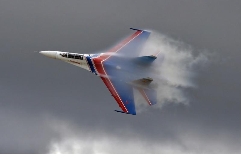 Jet tempur Sukhoi Su-27. (Foto: Marina Lystseva/TASS)