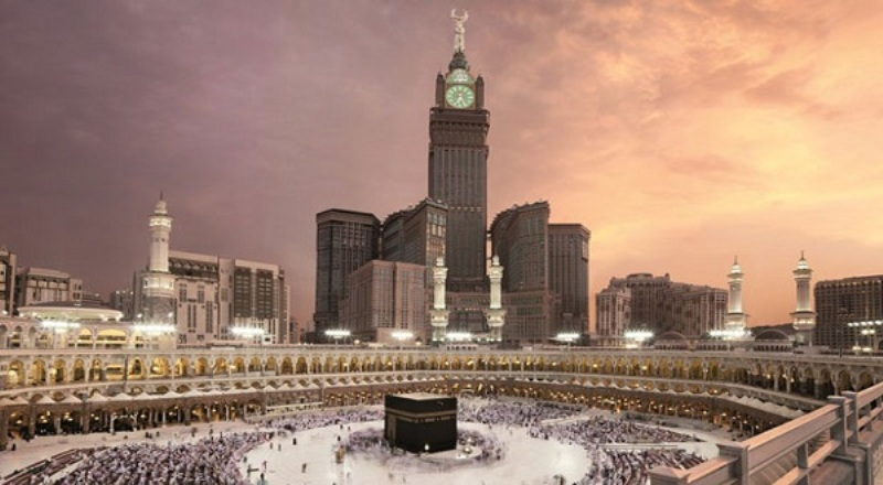 Tower Paling Indah di Dunia, Menara Jam Megah Mekkah, Arab Saudi