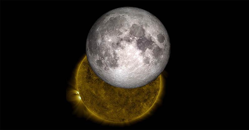 Sains & Alquran: Perbedaan Matahari dan Bulan