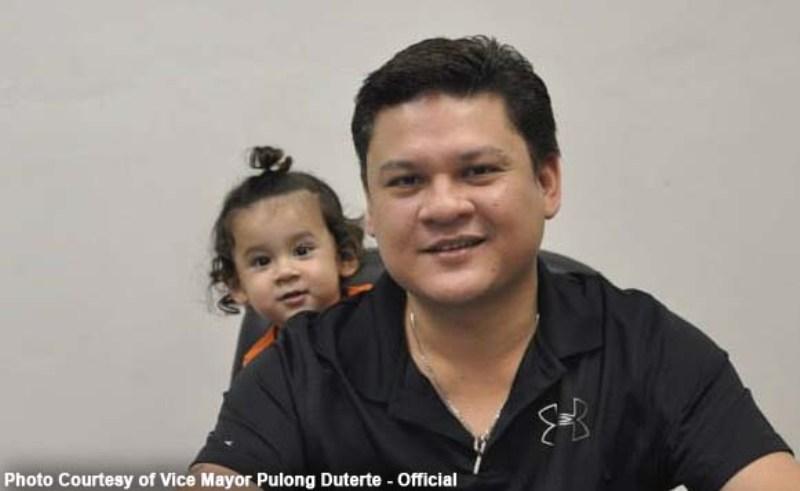 Paolo Duterte ditilang karena ngebut (Foto: Vismin Politics)
