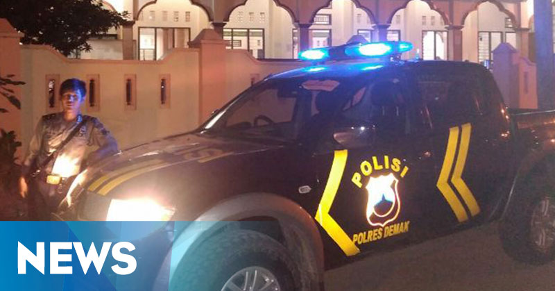 Lampu Rotator Polisi Dinilai Ampuh Usir Penjahat : Okezone ...