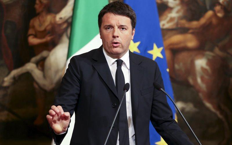 Perdana Menteri Italia, Matteo Renzi (Foto: Stefano Rellandini/REUTERS)