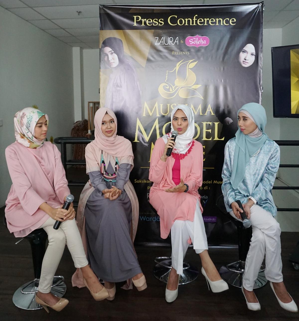 15 Finalis Unjuk Kemampuan di Muslima Model Muse 2016