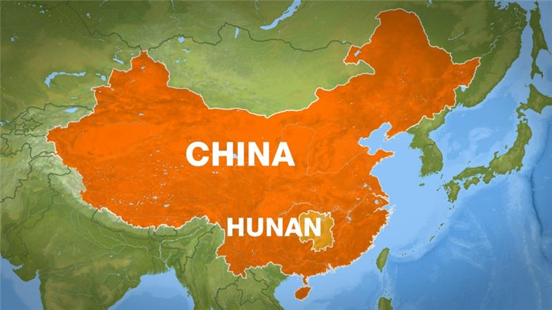 Ilustrasi, lokasi kecelakaan bus di China (Foto: Aljazeera)