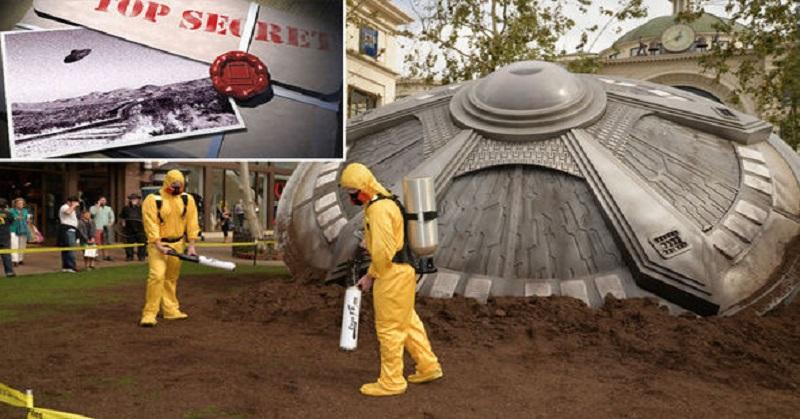 Bocor Memo & Puing Buktikan UFO Jatuh ke Bumi
