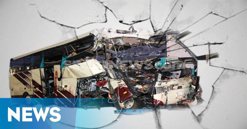 Bus Trans Semarang Tabrak Pangkalan Ojek, Belasan Orang Terluka