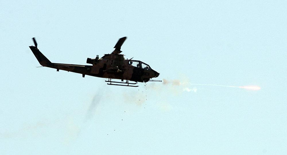 Helikopter Cobra milik Militer Turki. (Foto: AFP)