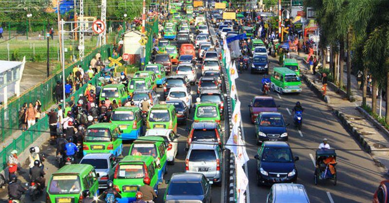 Hasil gambar untuk Macet Bogor