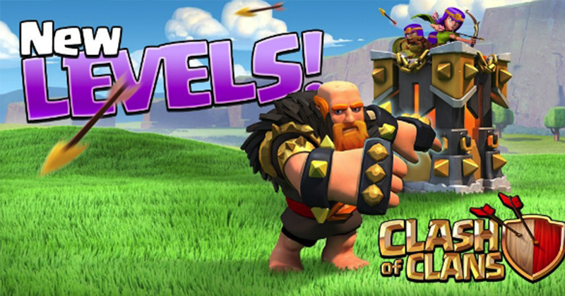 Levels On Clash Of Clans
