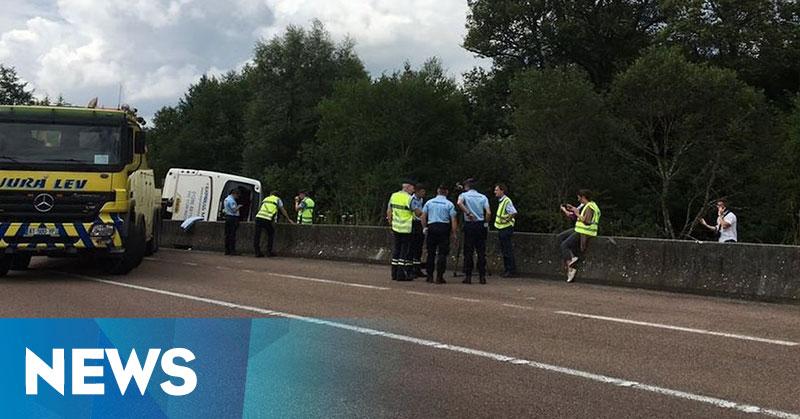 Kecelakaan Bus Wisata di Prancis, 15 Remaja Wales Jadi Korban