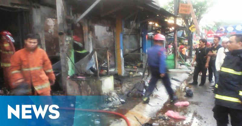 Kios Bensin di Tangsel Terbakar, Dua Orang Tewas