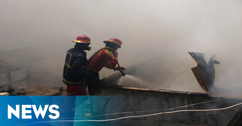 Kebakaran Toko Kayu di Bandung Berhasil Dipadamkan