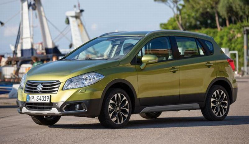 Suzuki akan membuat kejutan dengan memboyong produk mobil SX4 S-Cross ke GIIAS 2016 (foto:Indiancarsbikes)