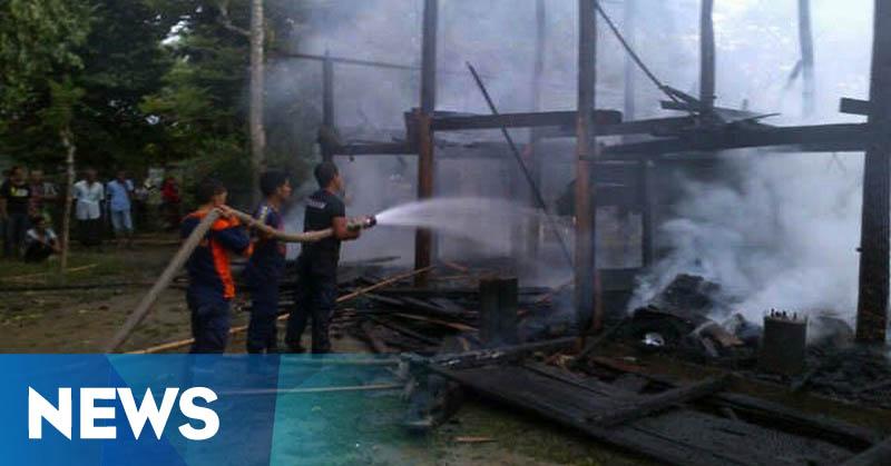 Kebakaran di Pidie, Enam Ekor Kambing Ikut Jadi Korban