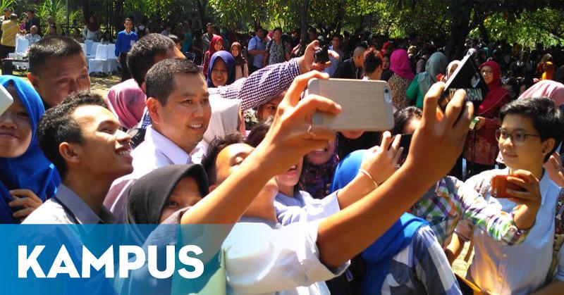 "Usai Kuliah Umum, Hary Tanoe ""Diserbu"" Mahasiswa IPB"