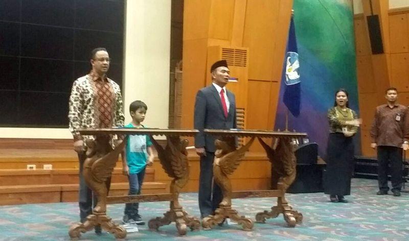 Reshuffle Kabinet: Anies Baswedan Sambut Mendikbud Baru