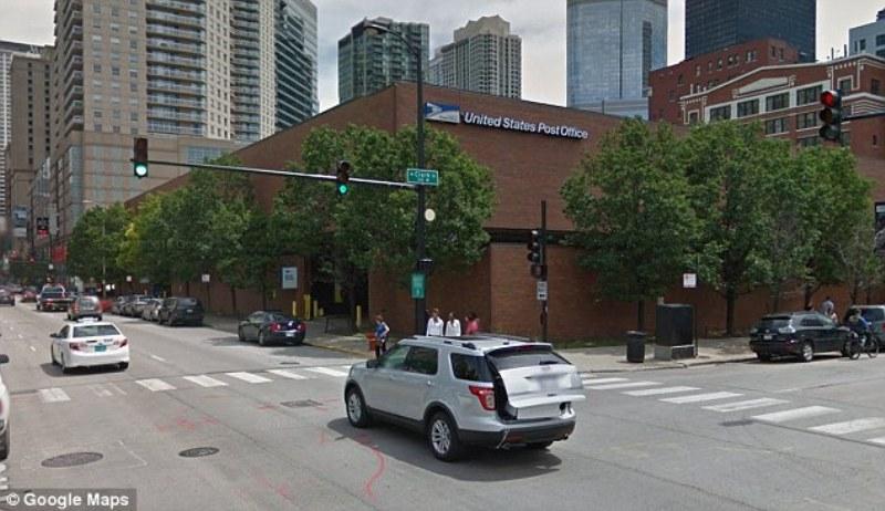13 pegawai kantor pos Chicago dilarikan ke rumah sakit akibat gangguan kesehatan karena suhu panas. (Foto: Google Map)