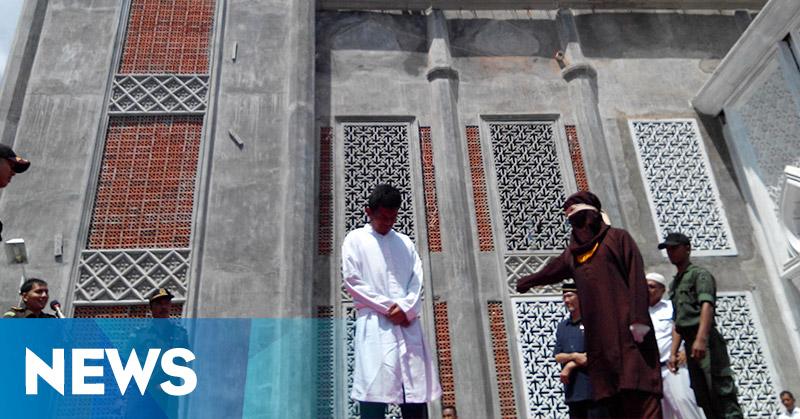 Langgar Syariat Islam, 11 Pelaku Dihukum Cambuk