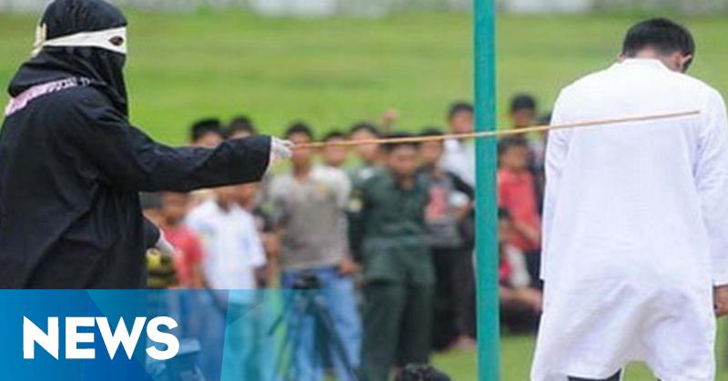 Perempuan Aceh Mendadak Pingsan Usai Dicambuk 13 Kali