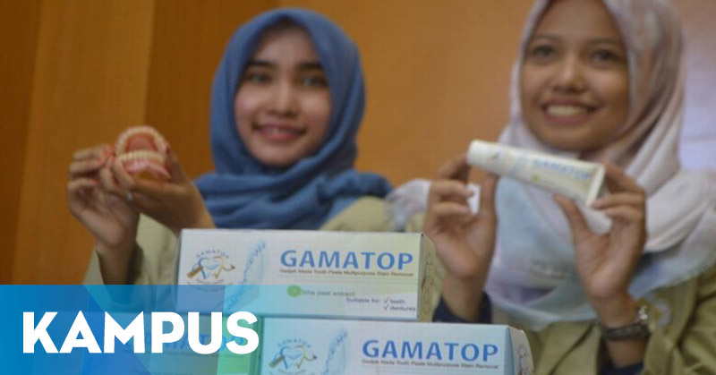 Gammatop, Pasta Gigi Herbal Atasi Plak Gigi