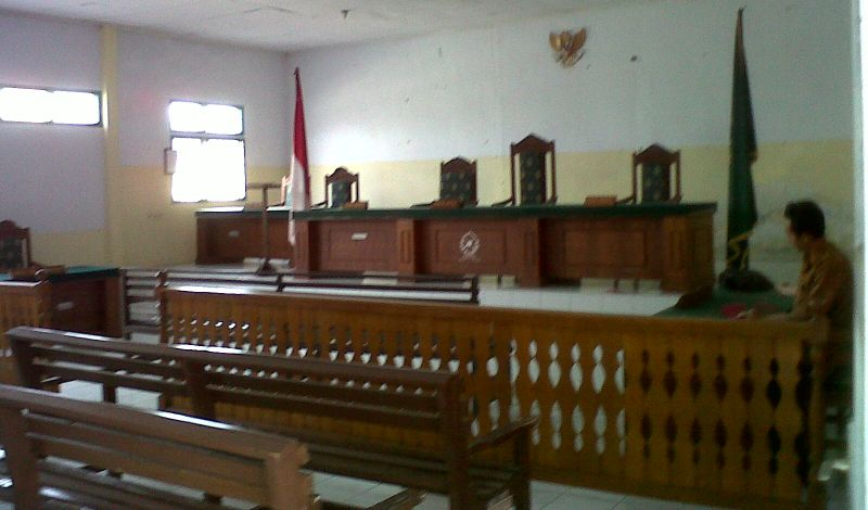 Ruang Sidang Kasus Pemerkosaan Yuyun (foto: Demon Fajri/Okezone)