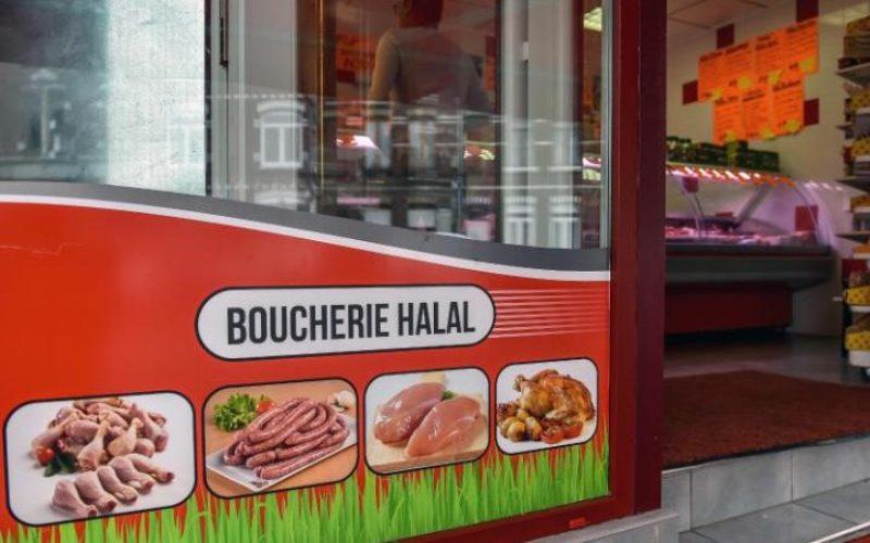 Ilustrasi. Penjual makanan halal. (Foto: Philippe Huguen/AFP/Getty)