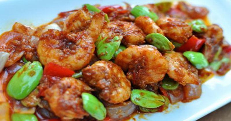 TOP FOOD 10: Pilihan Makan Malam, Coba Cicipi Udang Goreng ...