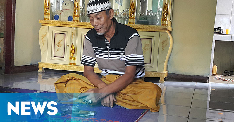 Abah Saiman, Tukang Urut yang Alami Mati Suri Tiga Kali