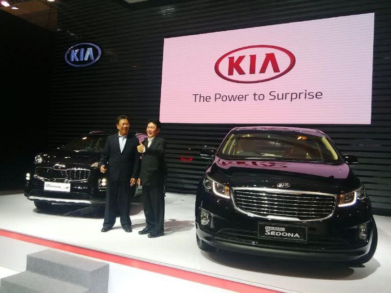 Peluncuran all new sportage dan KIA Sedona (foto: Okezone)