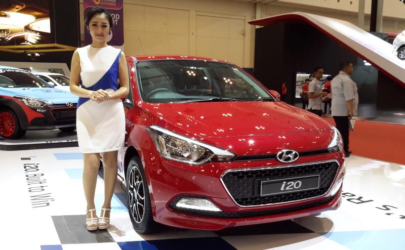 Hyundai i20 di GIIAS 2016 (Foro: Pius/Okezone)