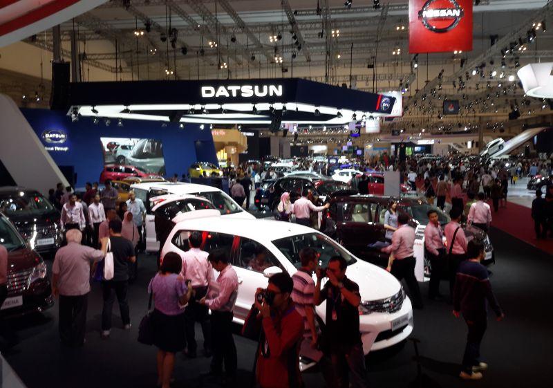 Nissan berharap bisa jual lebih dari 400 mobil di GIIAS 2016 (Foto: Pius/Okezone)