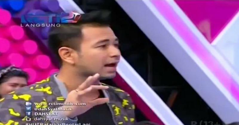 Live Dahsyat: Raffi Ahmad Minta Ayu Ting Ting Beri ...