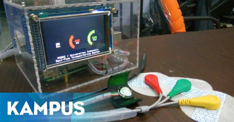 Mahasiswa UI Ciptakan Alat Deteksi Kesehatan Real Time
