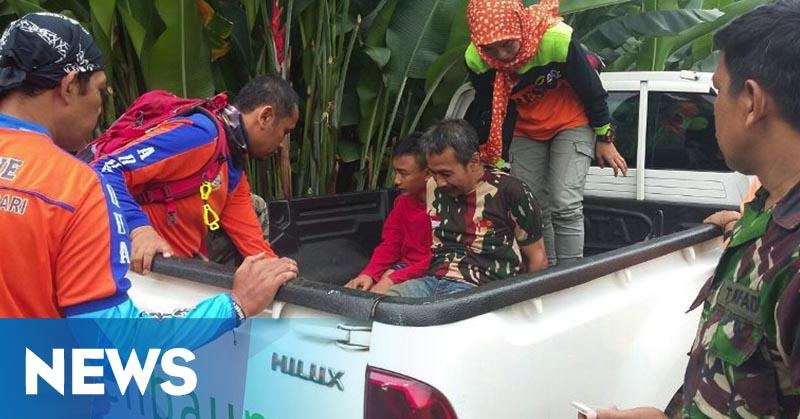 Hilang di Gunung Salak, 10 Peziarah Asal Jakarta Ditemukan Selamat