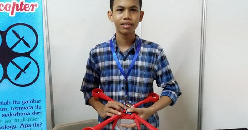Karya Anak Bangsa, Drone Tanpa Baling-Baling Pertama di Dunia