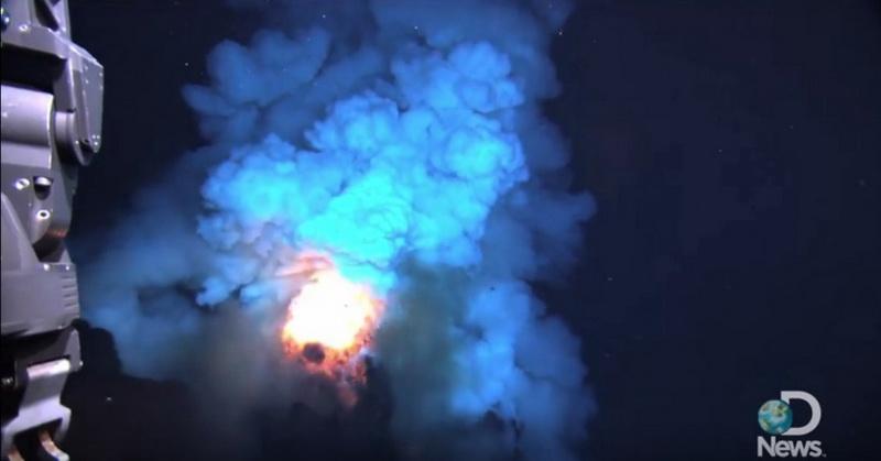 Fenomena Sains Api di Dasar Laut Dijelaskan dalam Alquran