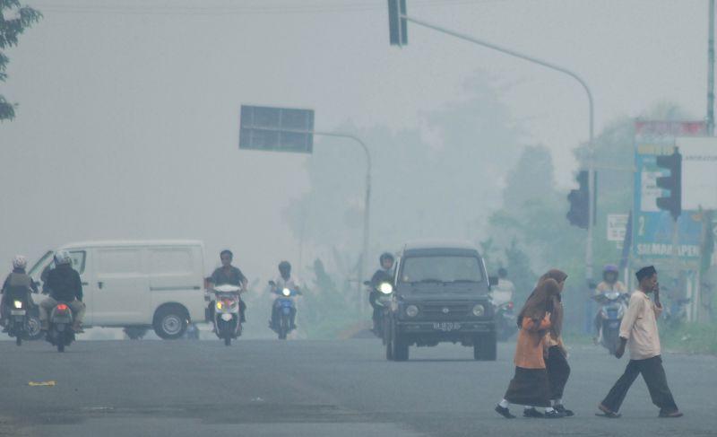 Doraemon-A, Penyedot Asap Kendaraan Bermotor Atasi Polusi Kota