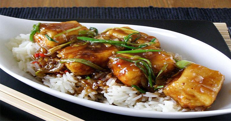 Makan Siang Dengan Menu Tahu Masak Saus Teriyaki Okezone Lifestyle