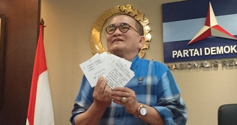 Isi Surat SBY untuk Ruhut Sitompul