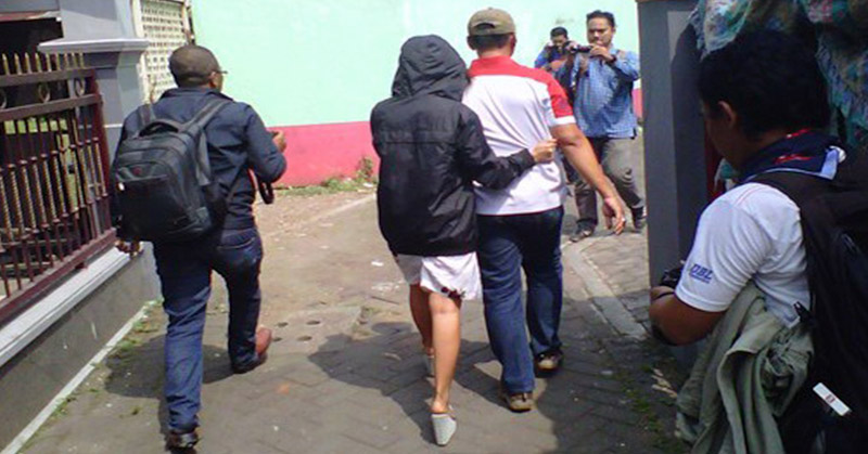 Tertangkap Basah Berduaan di Kamar Kos, Aan dan Siti Digelandang