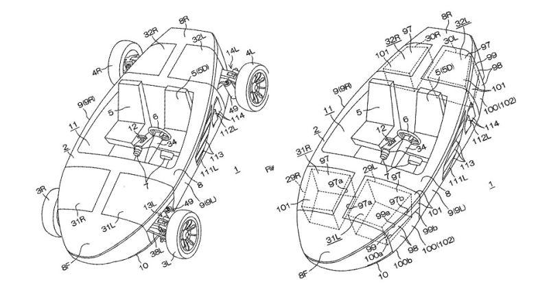 Yamaha Patenkan Desain Mobil Amfibi