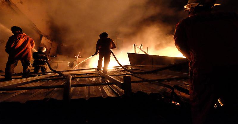 Kebakaran Polres Metro Jakarta Barat Menimpa Ruang Berkas